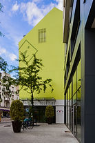 Façade en Corian® - office de tourisme de Mulhouse