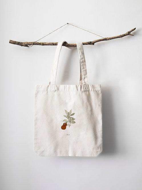 Naranja color naranja - Tote bag algodón