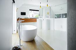 Salle de bain design en Corian®