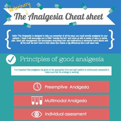 Veterinary anaesthesia cheat sheet Free