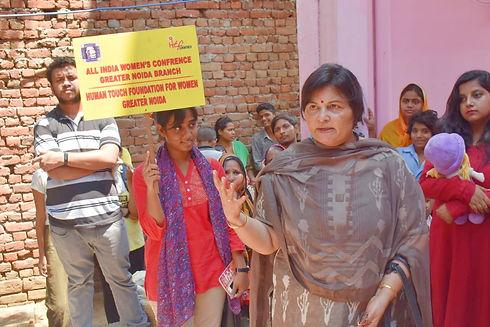 Dr Upasana Singh - President Human Touch
