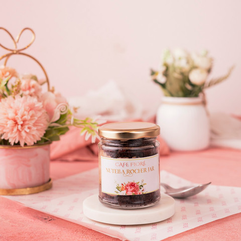 Cafe Fiore Delhi Nutella Rocher Jar