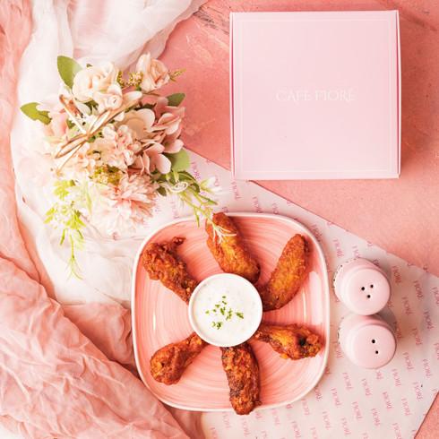Cafe Fiore Delhi BBQ Peri PeriChicken Wings
