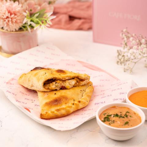 Cafe Fiore Delhi Peri Peri Chicken Paneer Calzone
