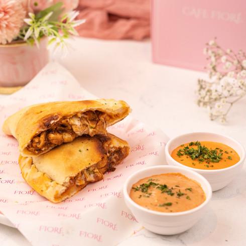 Cafe Fiore Delhi Bacon & Cheese Calzone