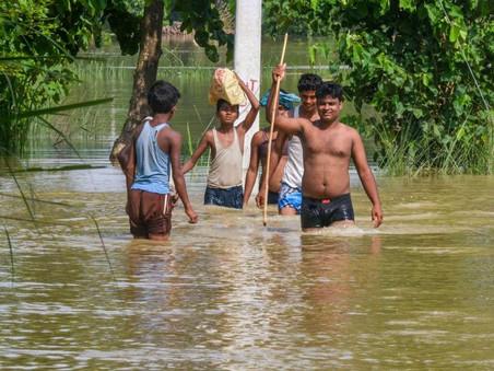 Bringing Aid to Post-pandemic Flood-hit Bihar, in collaboration with Sarv Shoshit Samaj Sangh