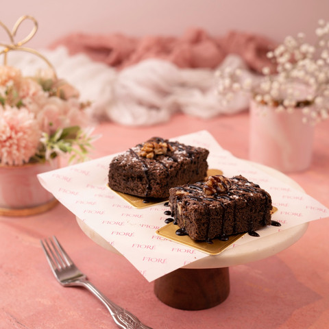 Cafe Fiore Delhi Walnut Brownie