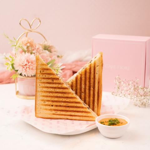 Cafe Fiore Delhi Grilled Cheese Sandwich