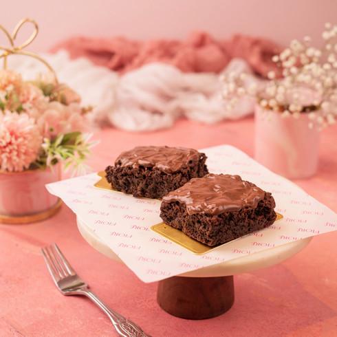 Cafe Fiore Delhi Nutella Brownie