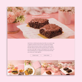 Cafe Fiore Website