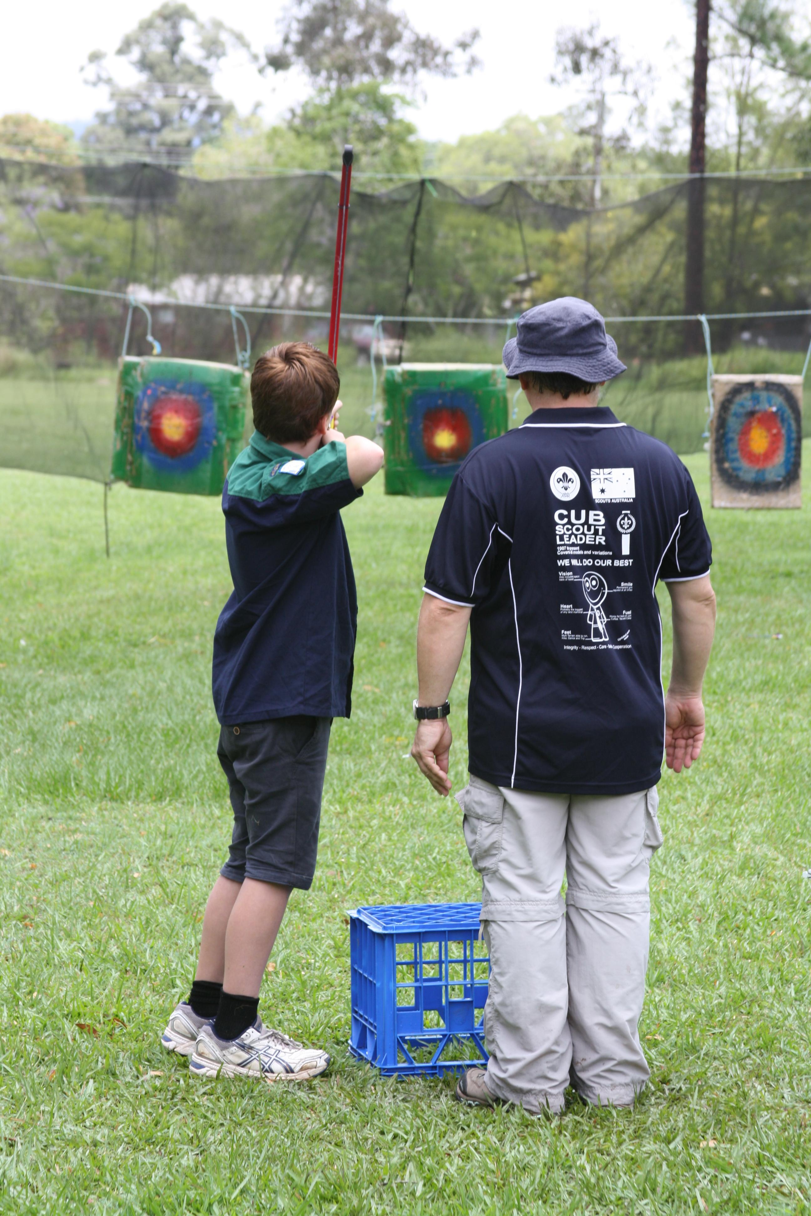 Jayne Scout archery