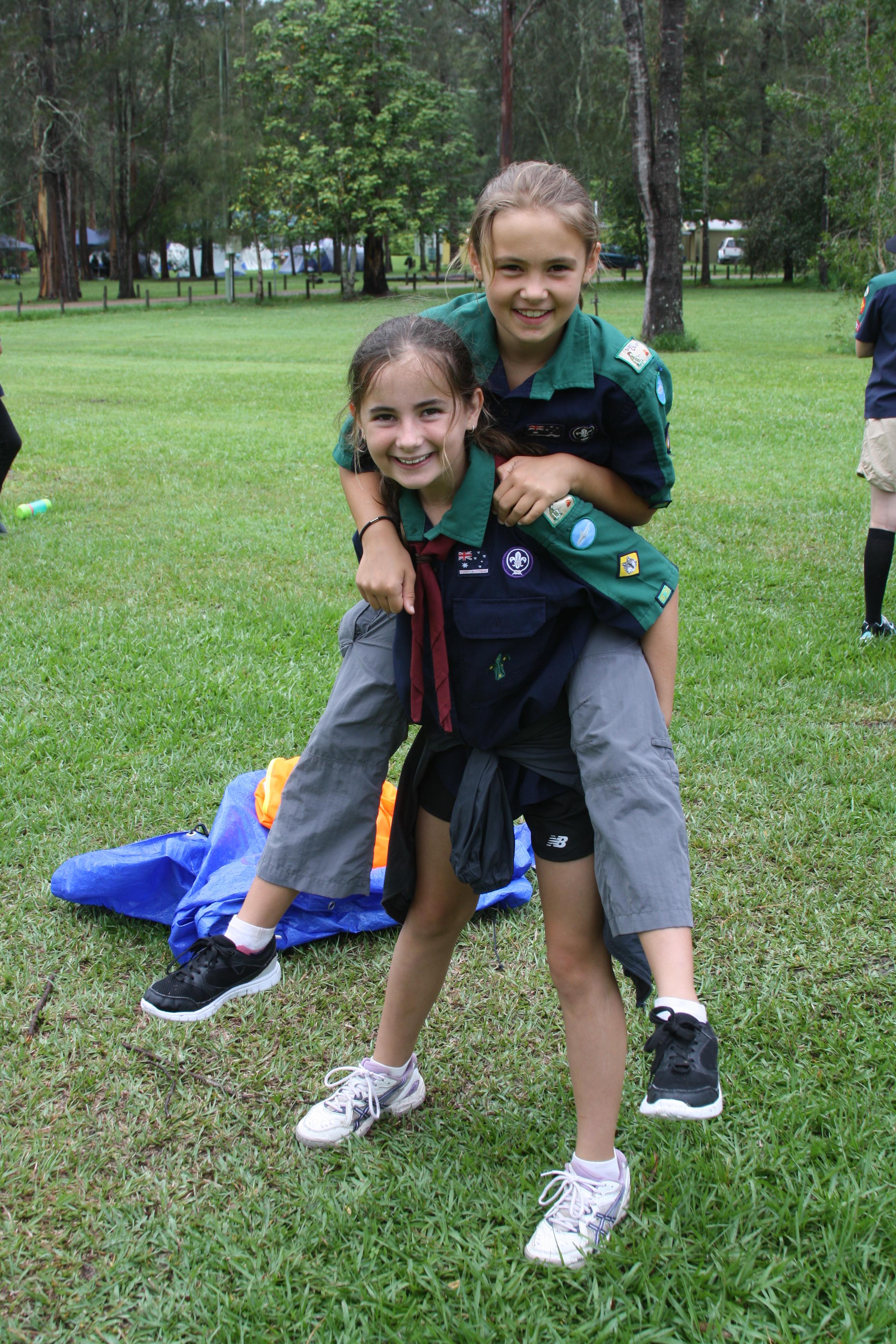 Jayne 2 girl Scouts