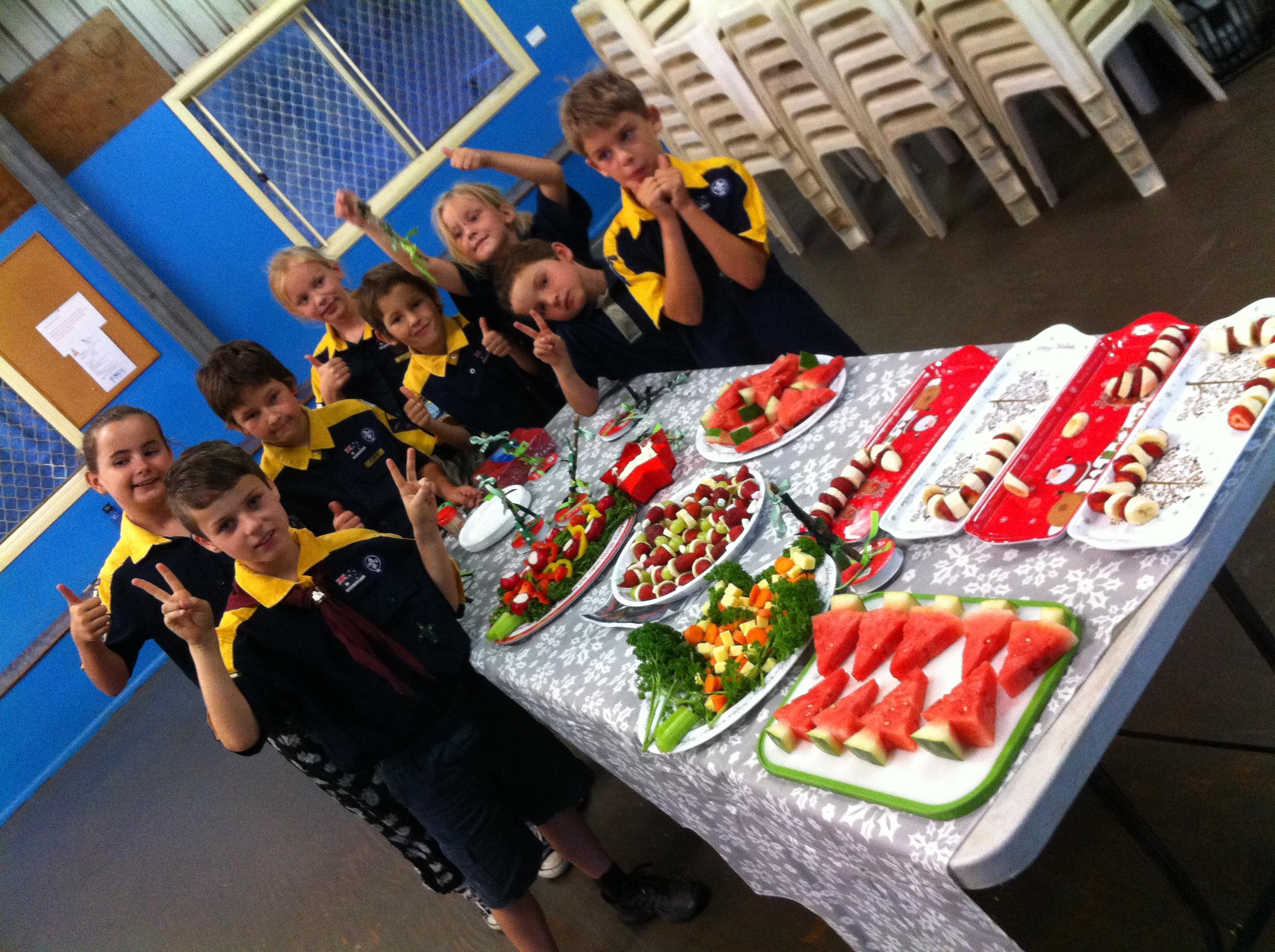 Jayne cubs fruit platters