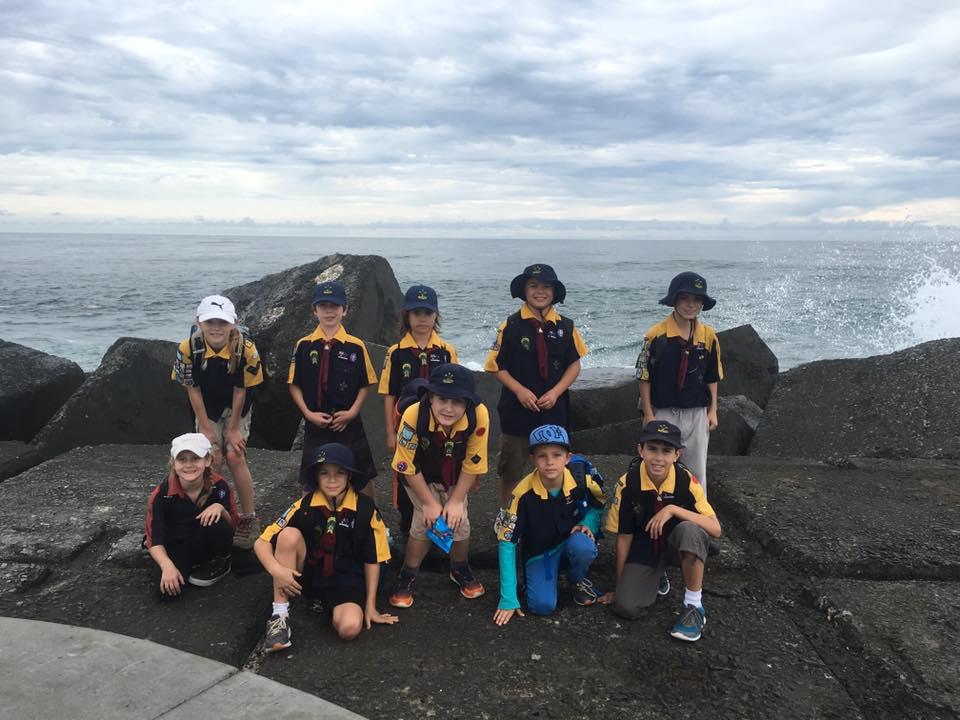 Cubs Seeonee beach