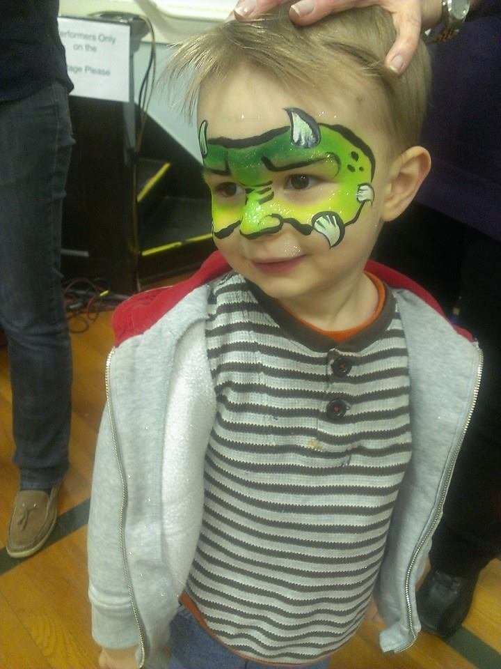 monster, face paint, Louisville