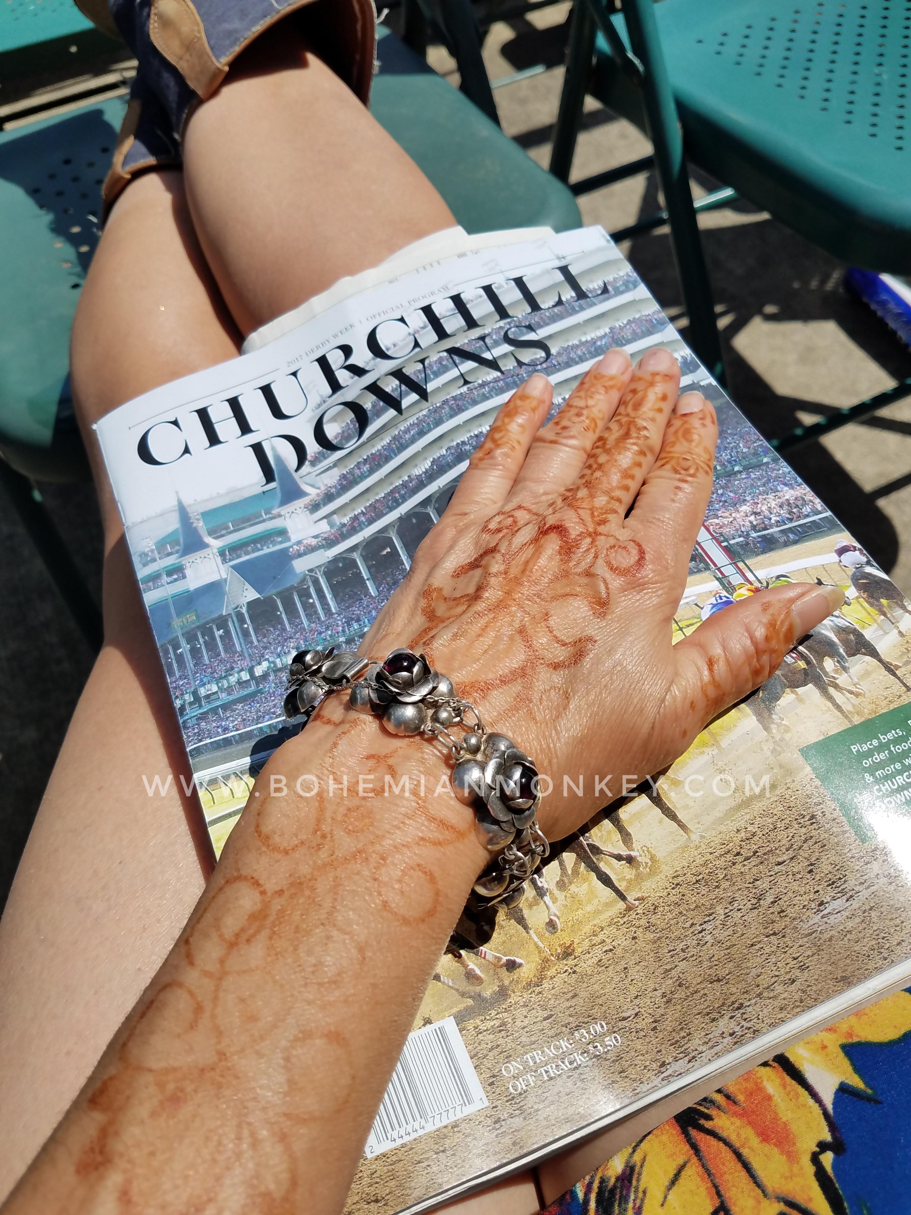 Henna, Churchill Downs