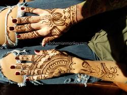 henna hands, Louisville KY