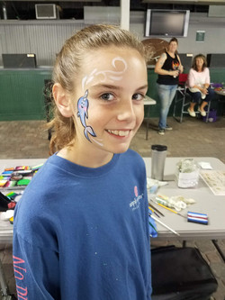 face painting, Churchill Downs