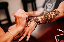 Henna application, Louisville