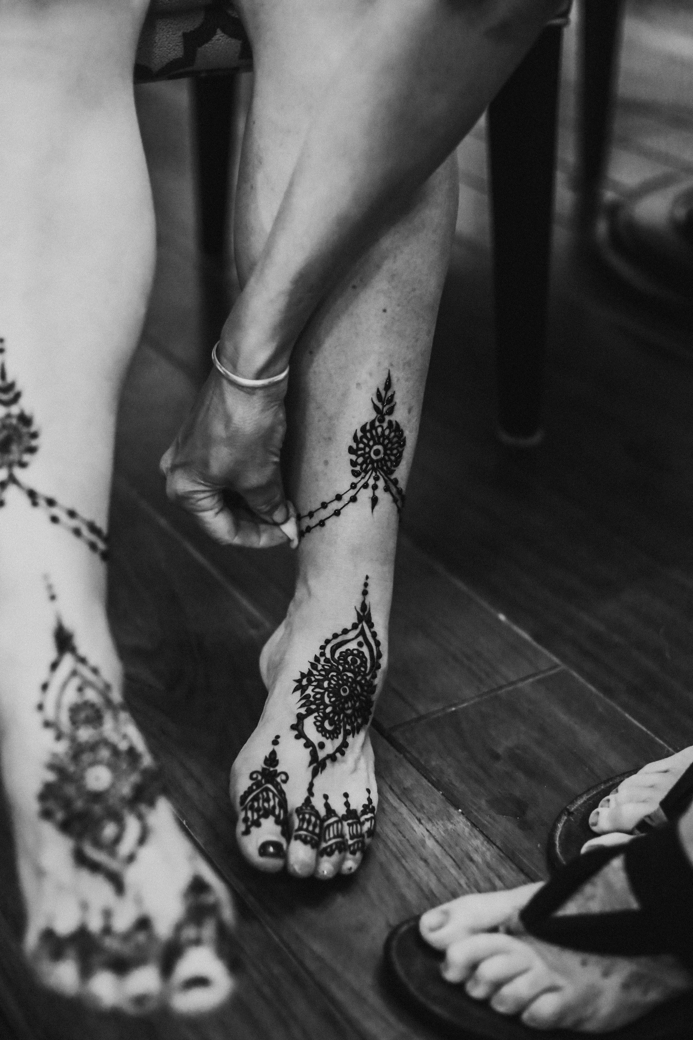 henna feet, Louisville
