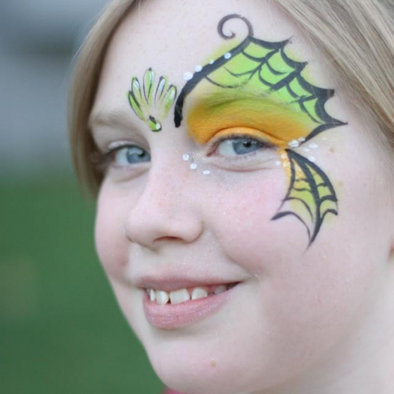 mermaid, face paint, Louisville