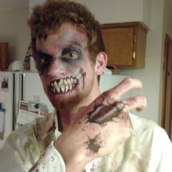 zombie, face paint, Louisville
