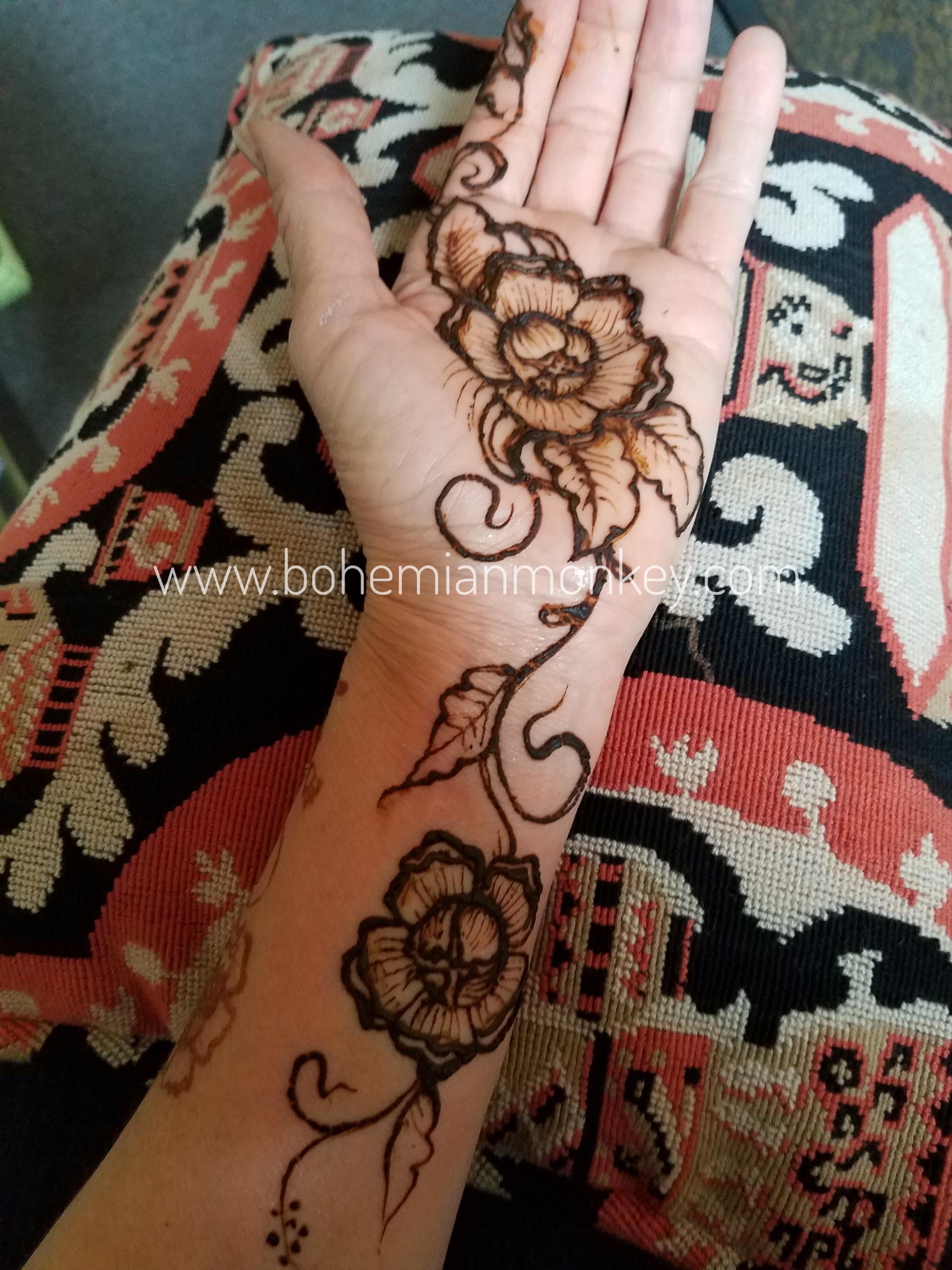 henna flowers, Louisville