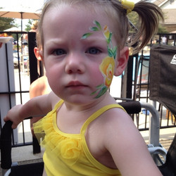 flowers,face painting, Louisville