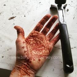 Henna stain, Louisville