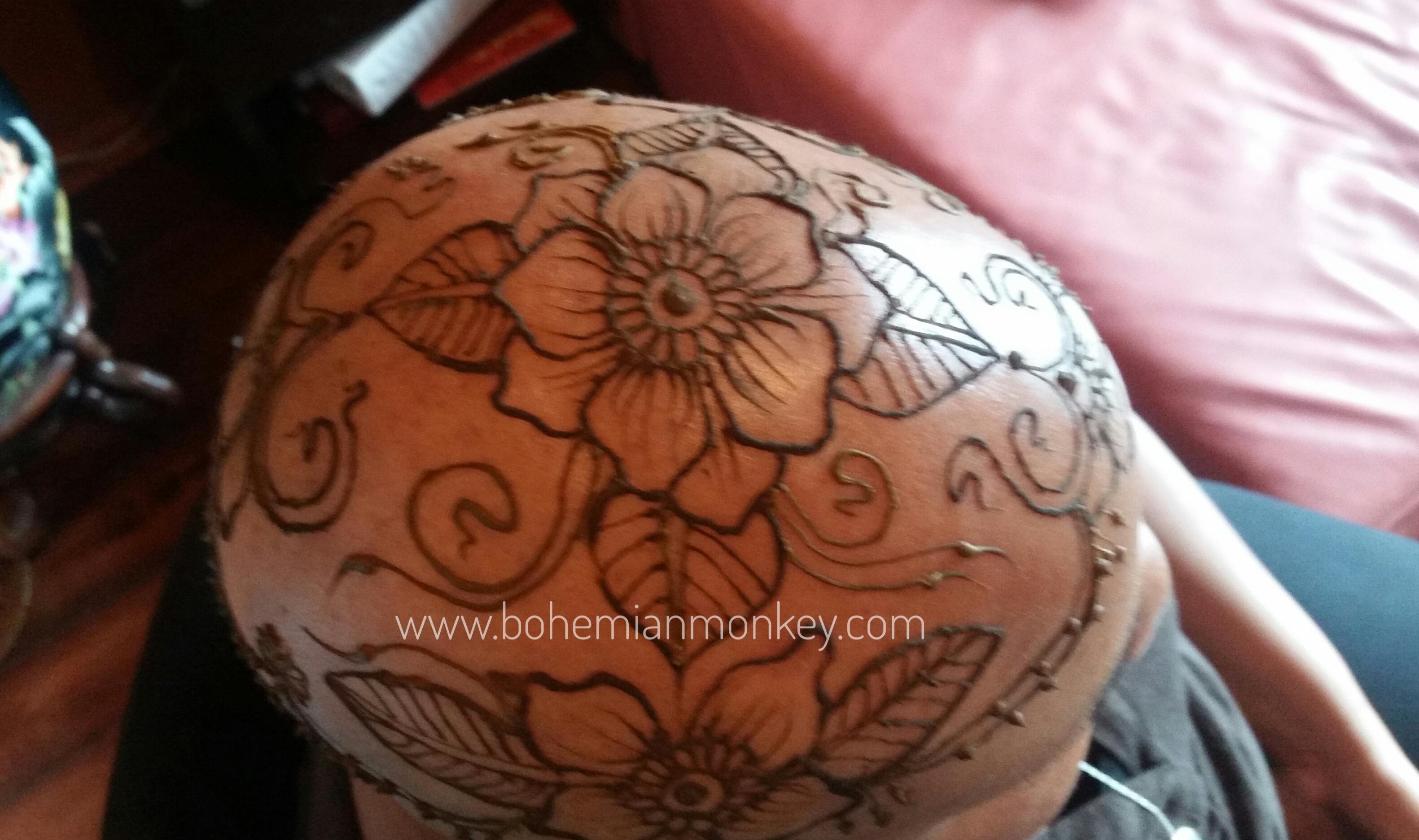Henna crown, Louisville