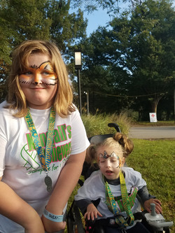 face painting, VIPS, Lou Zoo