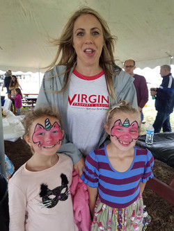 face painting company events