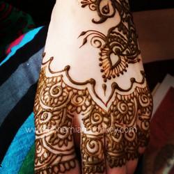 henna bridal feet, Louisville
