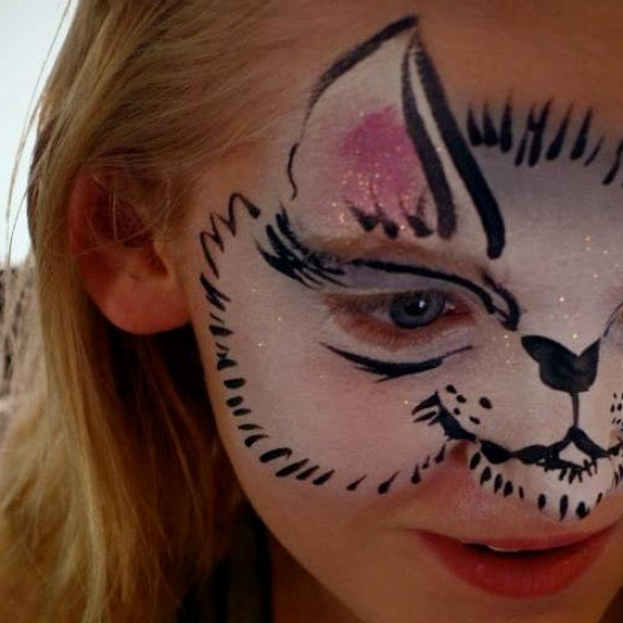 kitten, face paint, Louisville