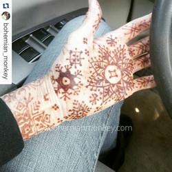 henna snow flakes, Louisville