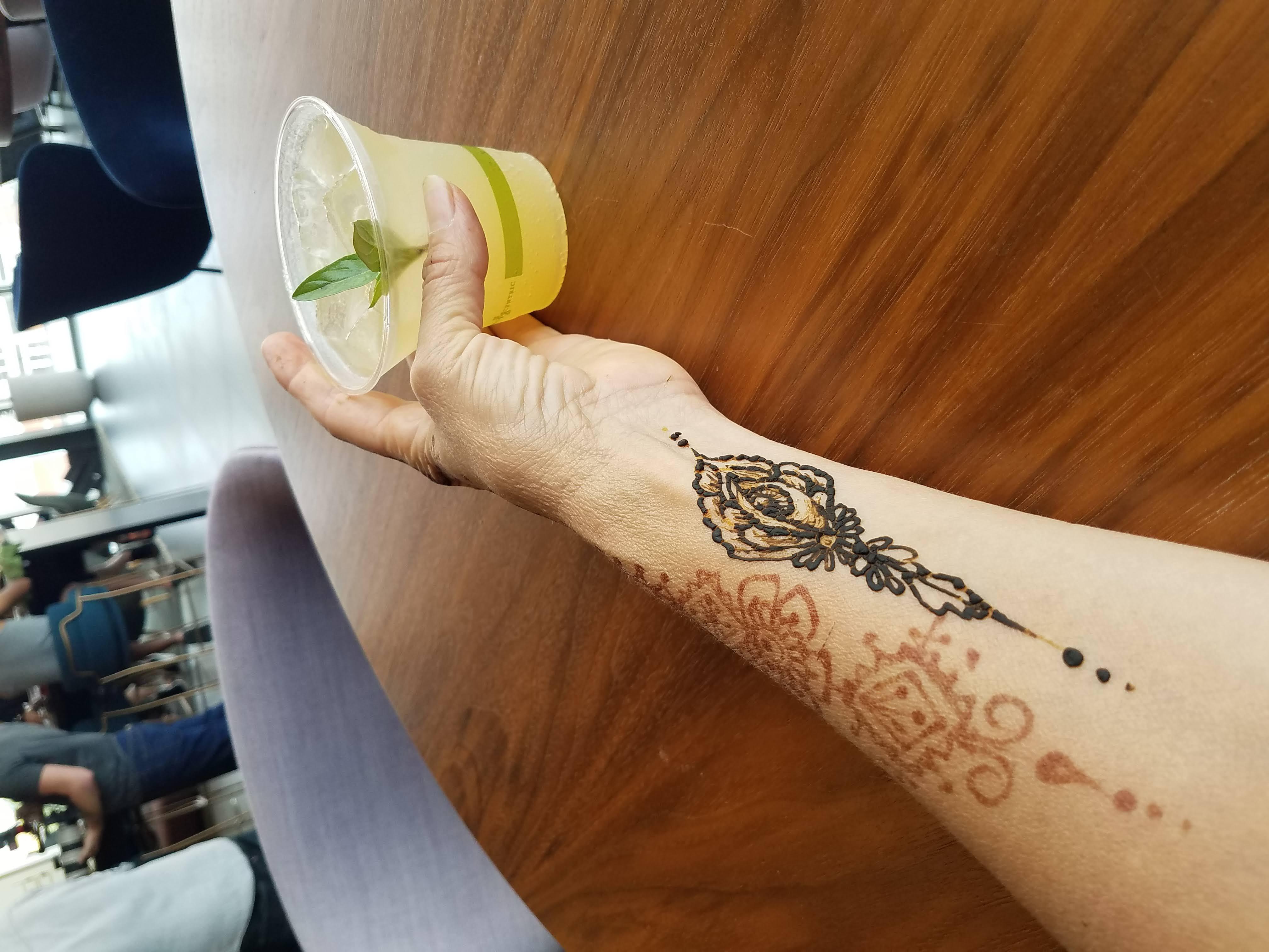 Henna event, Rabbit Hole, Louisville