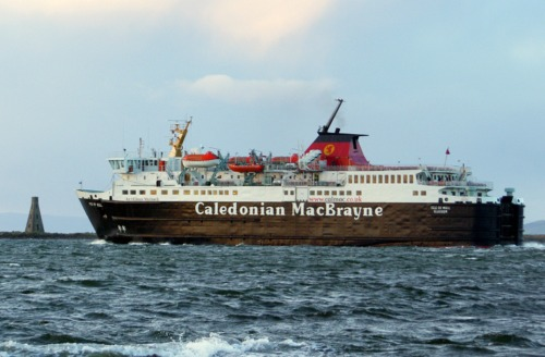 Setting out for Brodick once more