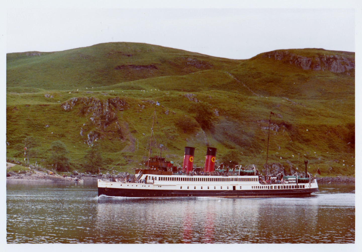 King George V in the Sound of Kerrera