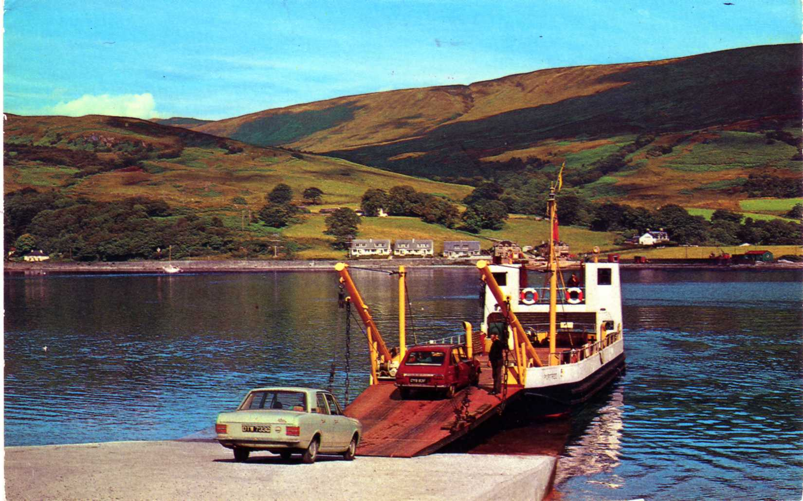 Portree at Rhubodach