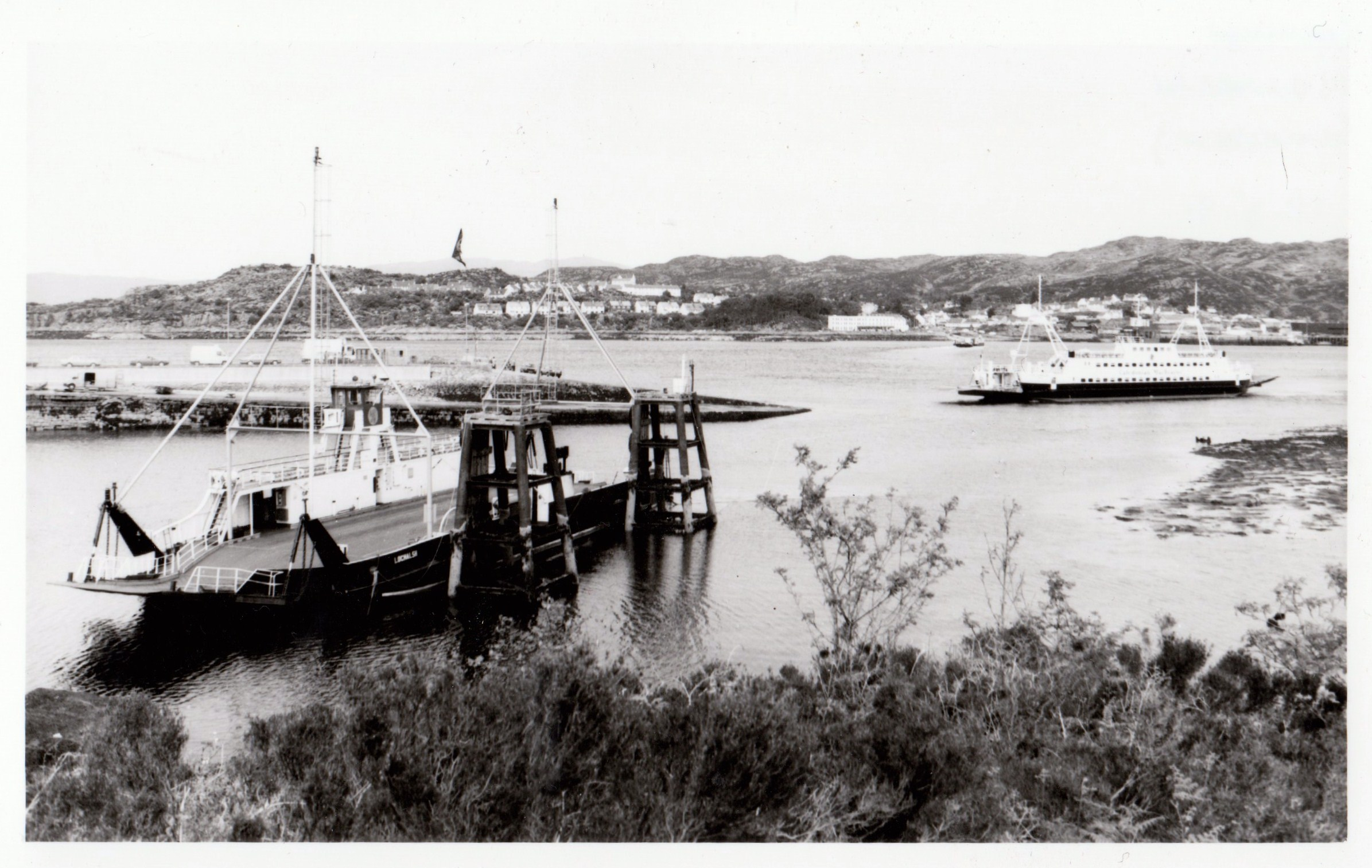 Lochalsh handing over to Loch Dunvegan in 1991