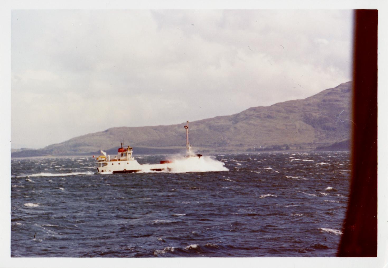 Eigg on the Raasay run (Jim Aikman Smith)