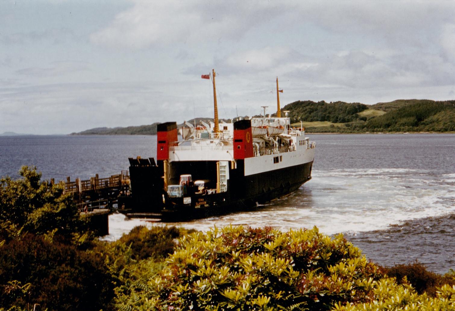 Iona at Kennacraig (Jim Aikman Smith)