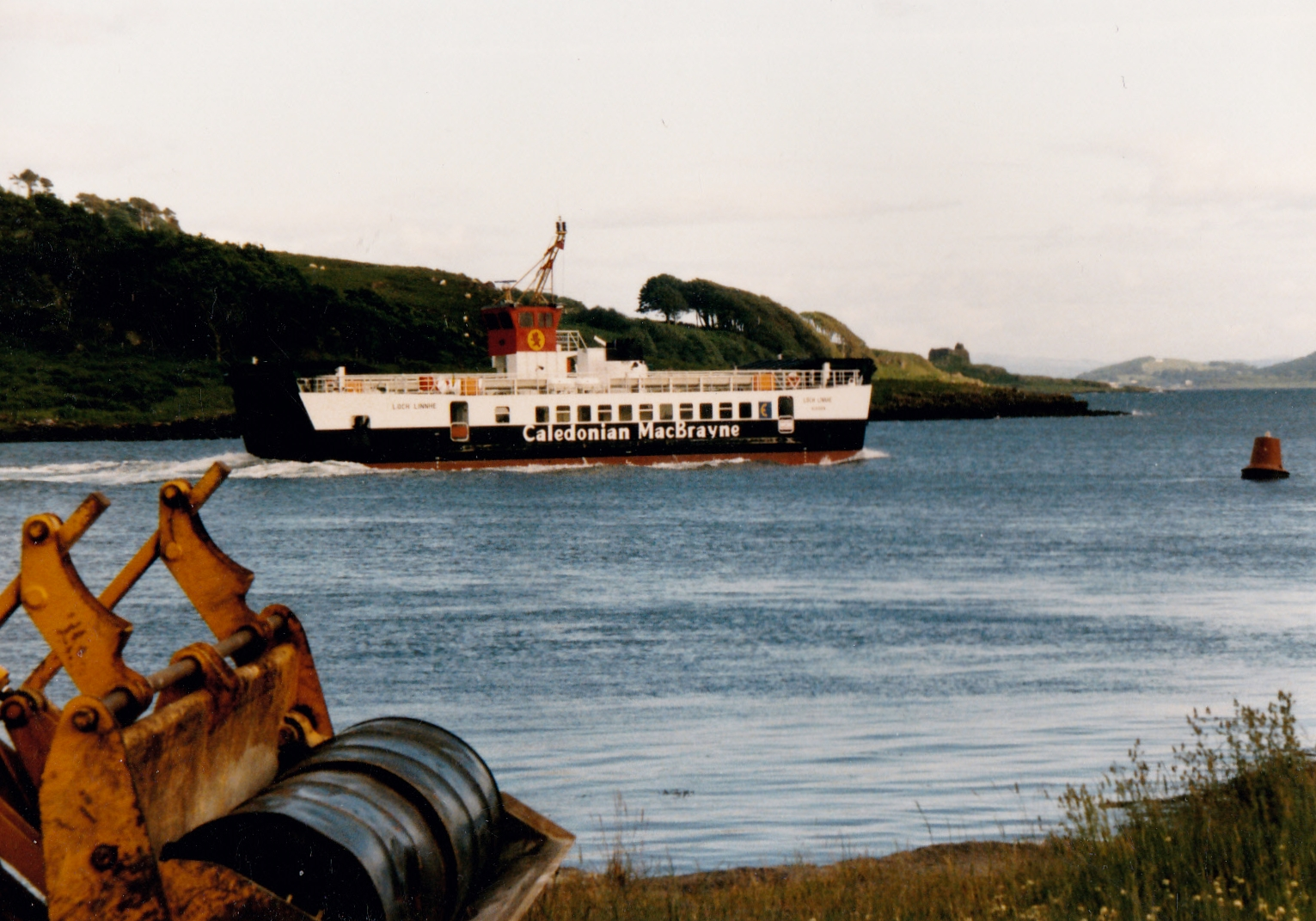Loch Linnhe leaving Lochaline (Jim Aikman Smith)