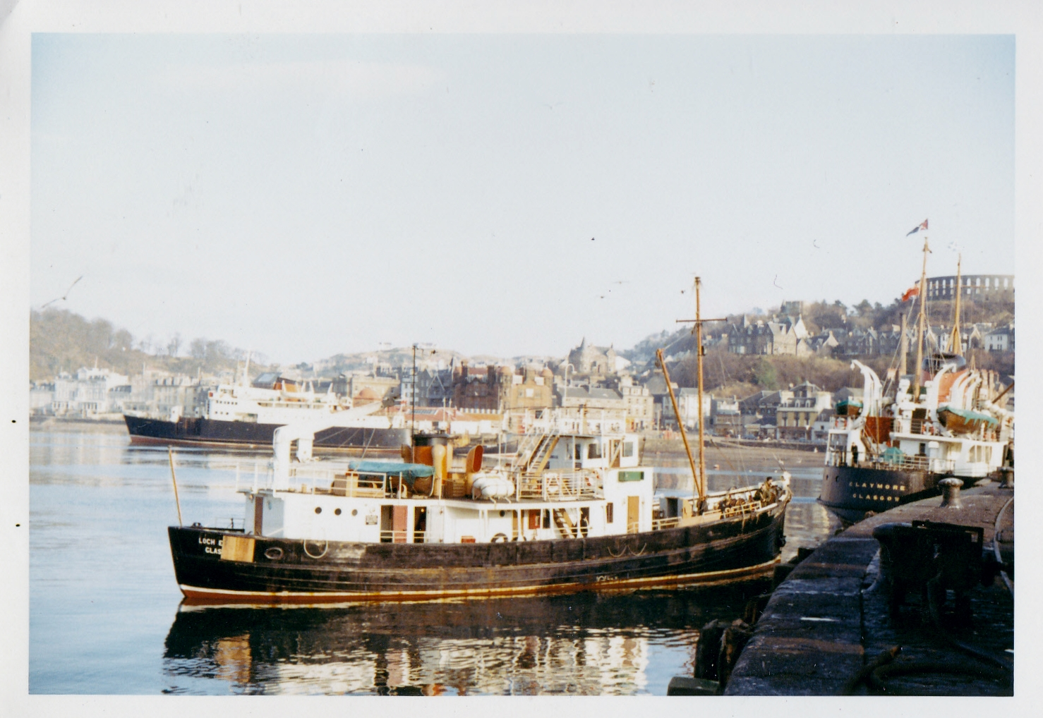 Loch Eynort, Claymore and Columba at Oban