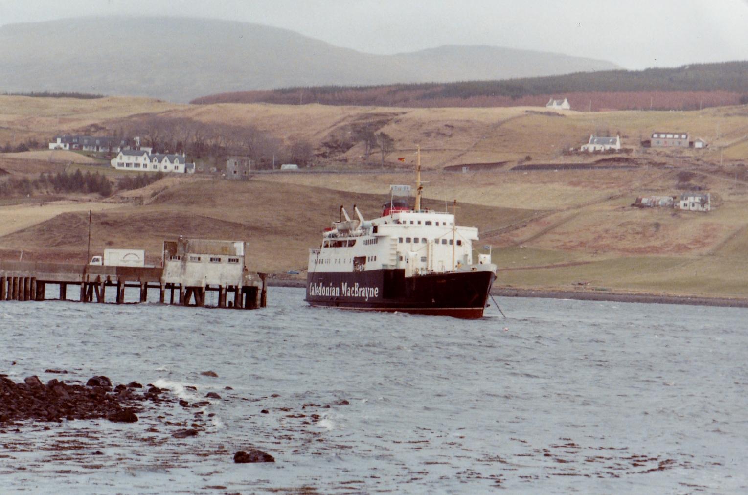 Columba off Uig