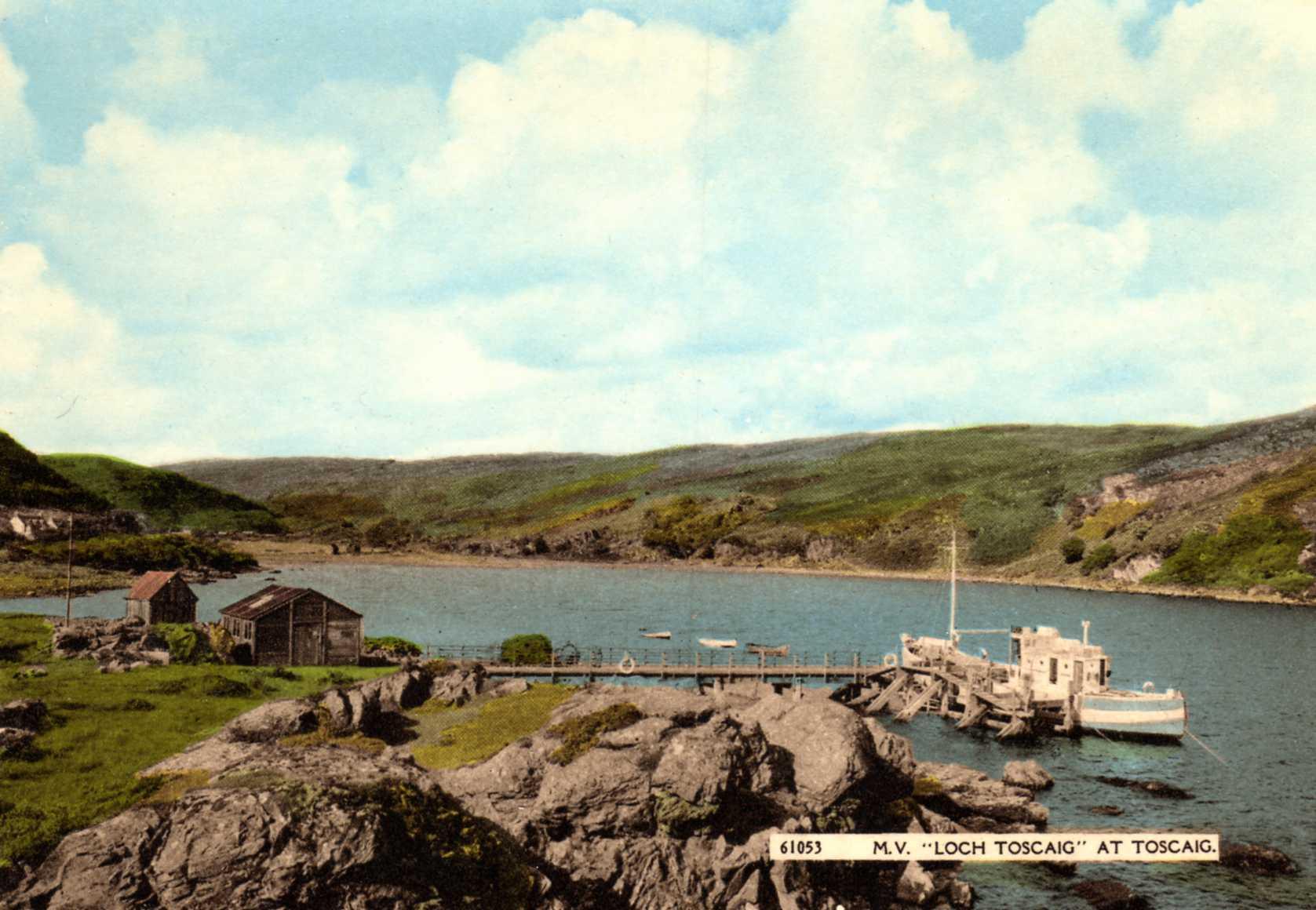 Loch Toscaig at Toscaig