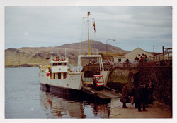 Eigg at Portree