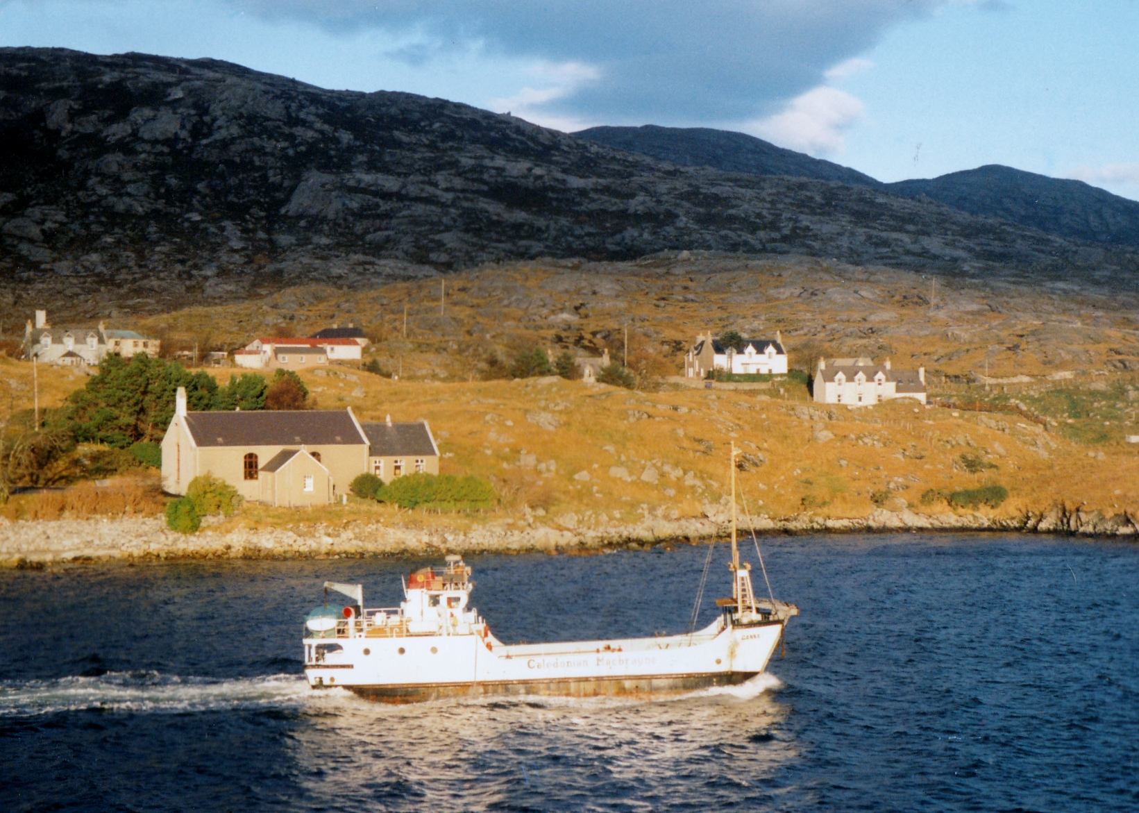Canna off Tarbert, Harris (Jim Aikman Smith)