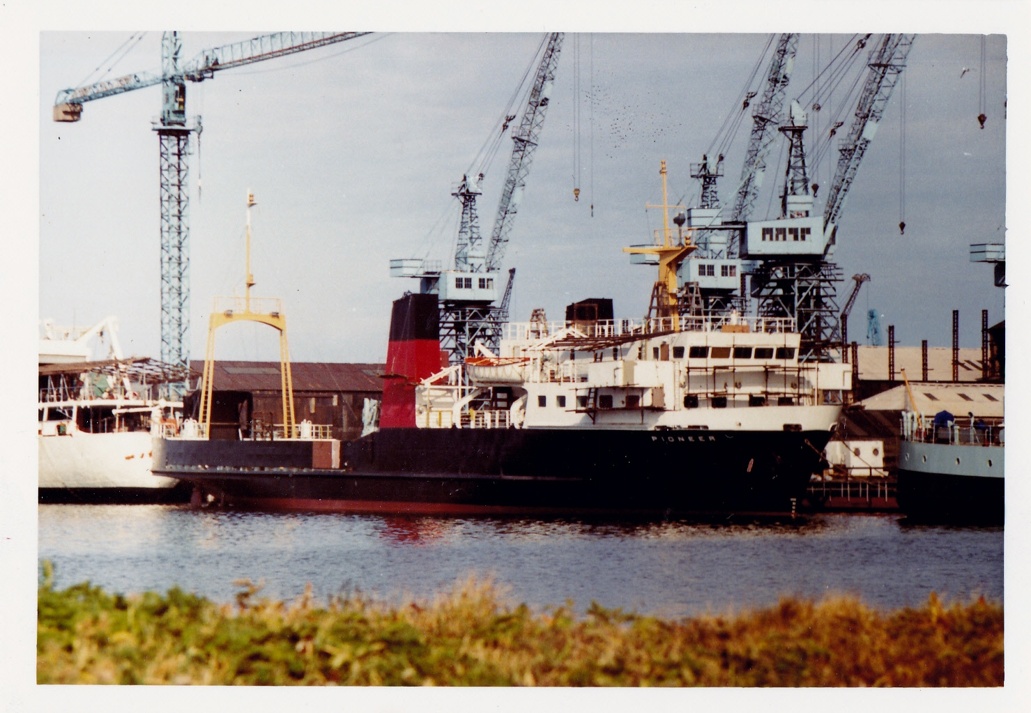 Pioneer at Leith