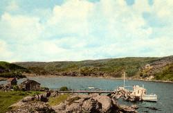 Loch Toscaig at Toscaig between 1960 - 63.